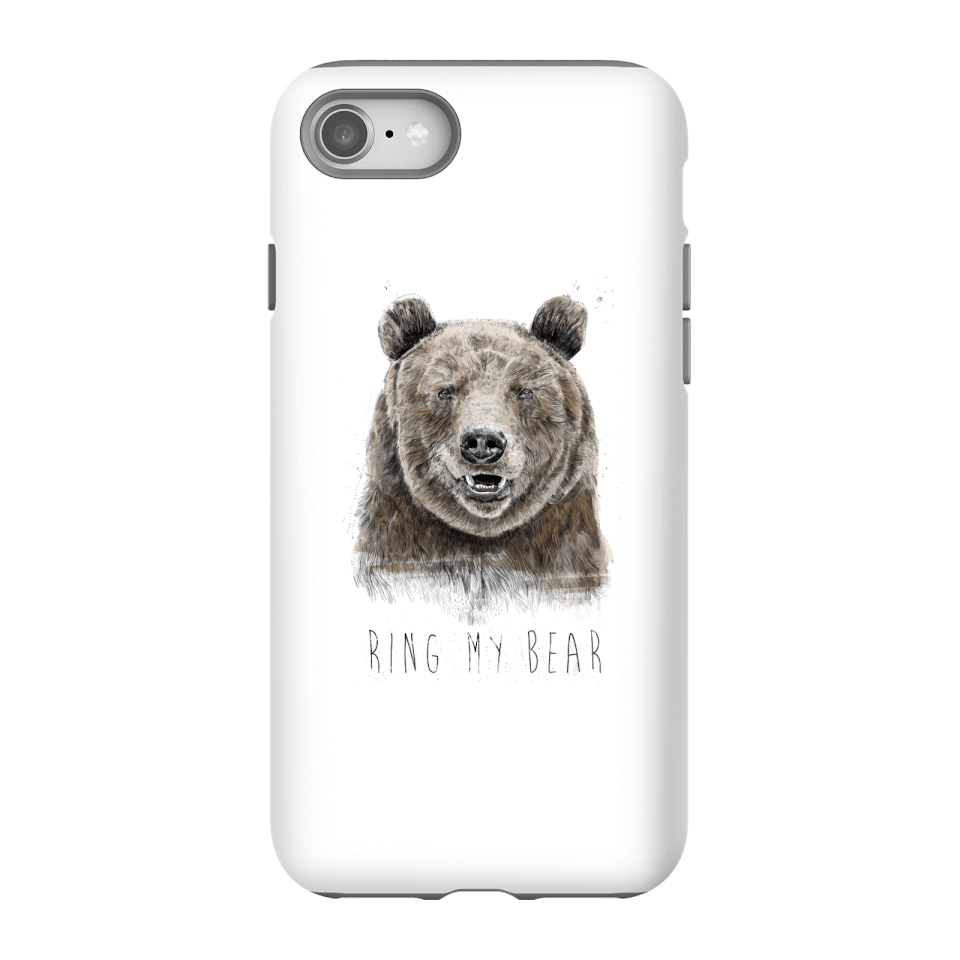 Balazs Solti Ring My Bear Phone Case for iPhone and Android - iPhone 8 - Tough Hülle Glänzend von Balazs Solti