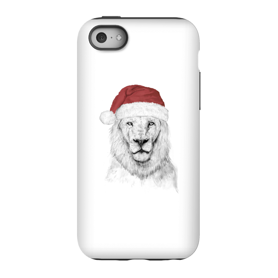 Balazs Solti Santa Bear Phone Case for iPhone and Android - iPhone 5C - Tough Hülle Glänzend von Balazs Solti