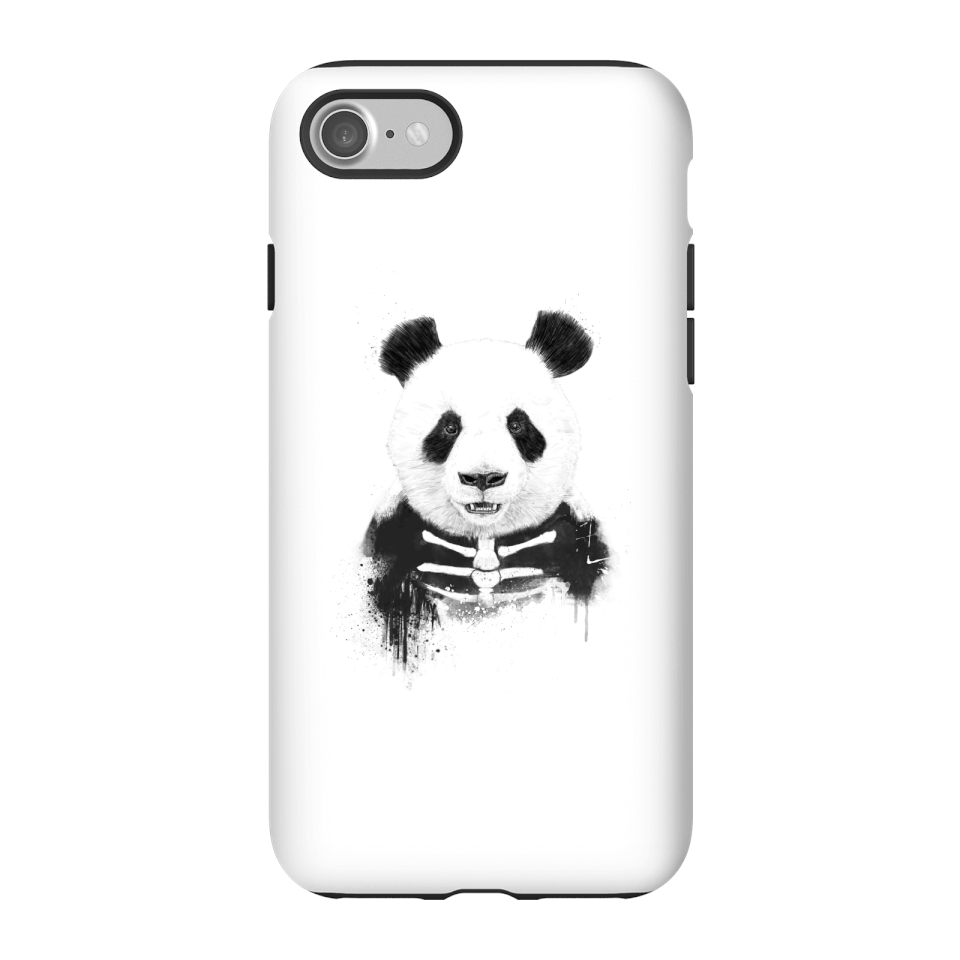Balazs Solti Skull Panda Phone Case for iPhone and Android - iPhone 7 - Tough Hülle Matt von Balazs Solti