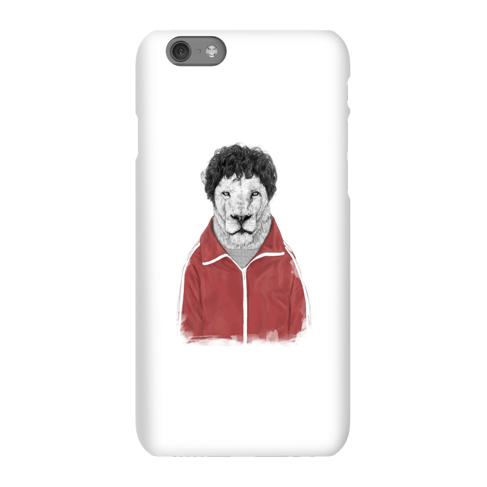 Balazs Solti Sporty Lion Phone Case for iPhone and Android - iPhone 6S - Snap Hülle Matt von Balazs Solti