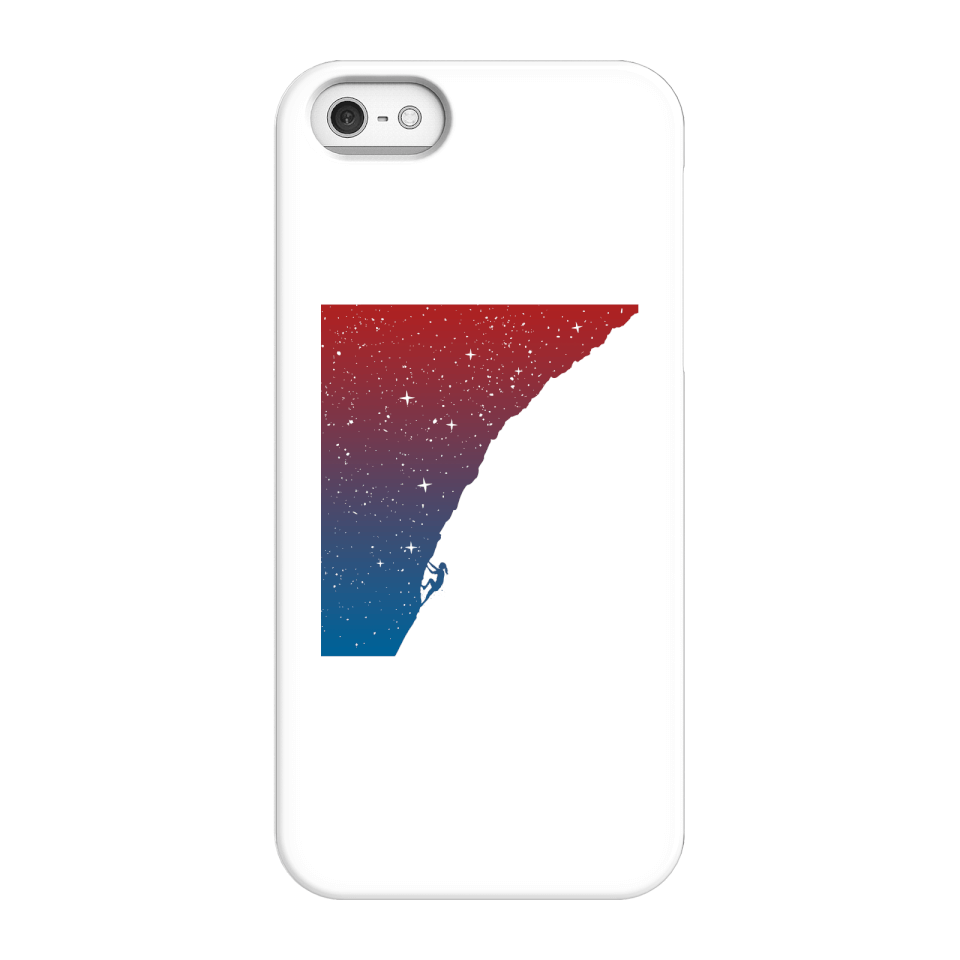 Balazs Solti Starry Climb Phone Case for iPhone and Android - iPhone 5/5s - Snap Hülle Glänzend von Balazs Solti