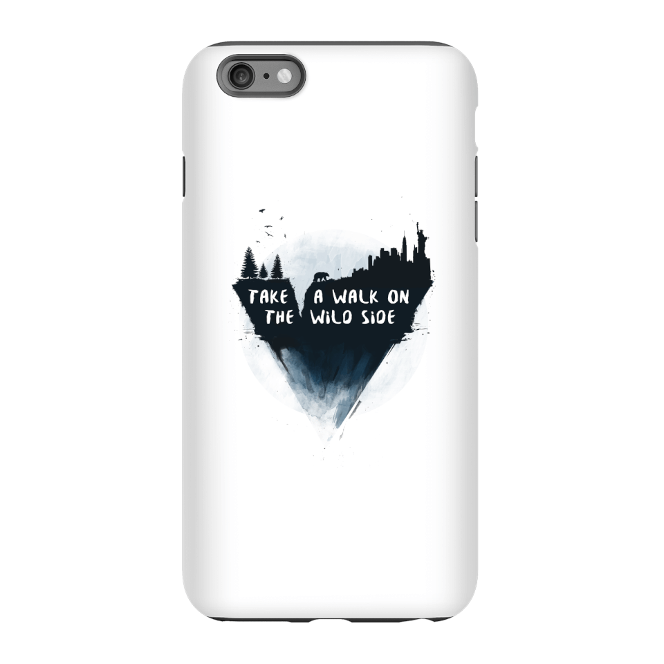 Balazs Solti Take A Walk On The Wild Side Phone Case for iPhone and Android - iPhone 6 Plus - Tough Hülle Matt von Balazs Solti