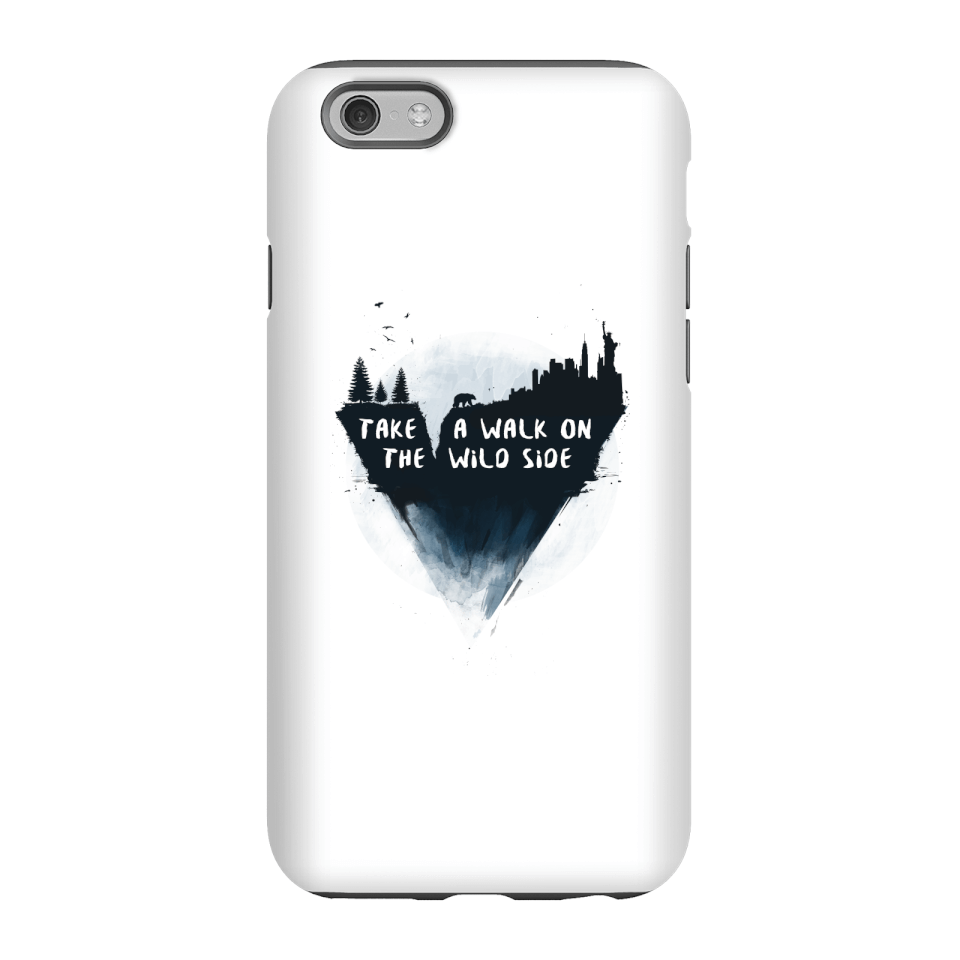 Balazs Solti Take A Walk On The Wild Side Phone Case for iPhone and Android - iPhone 6S - Tough Hülle Matt von Balazs Solti