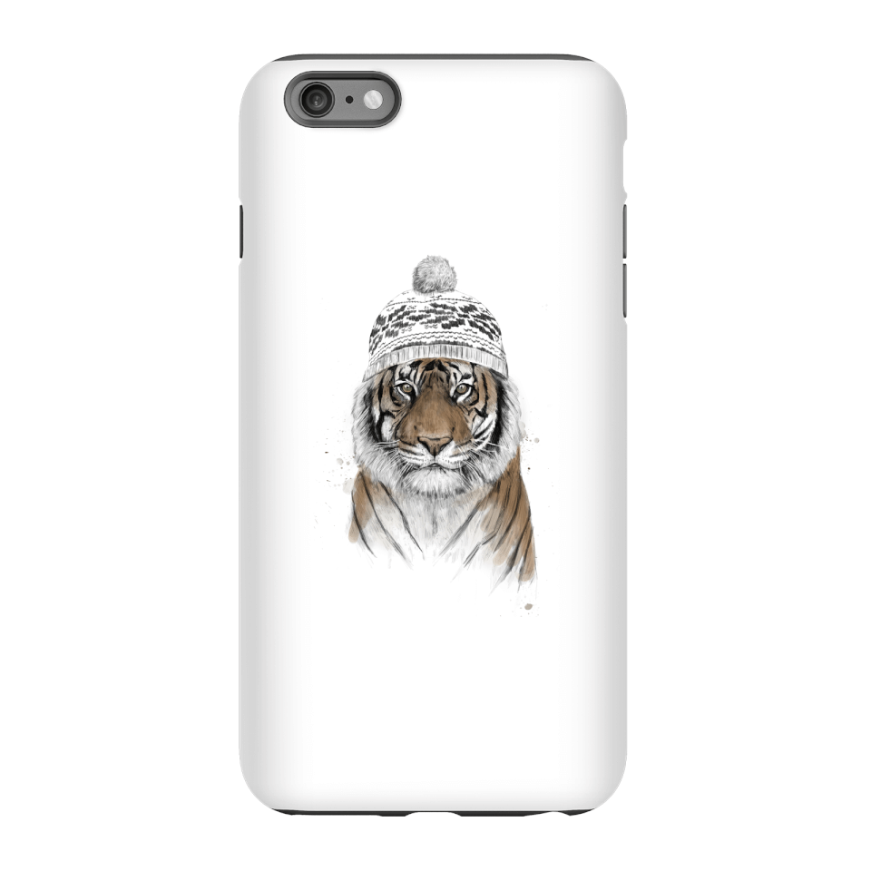 Balazs Solti Winter Tiger Phone Case for iPhone and Android - iPhone 6 Plus - Tough Case - Matte von Balazs Solti
