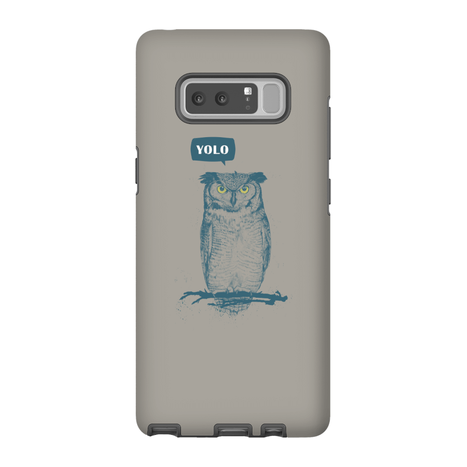 Balazs Solti YOLO Phone Case for iPhone and Android - Samsung Note 8 - Tough Hülle Matt von Balazs Solti