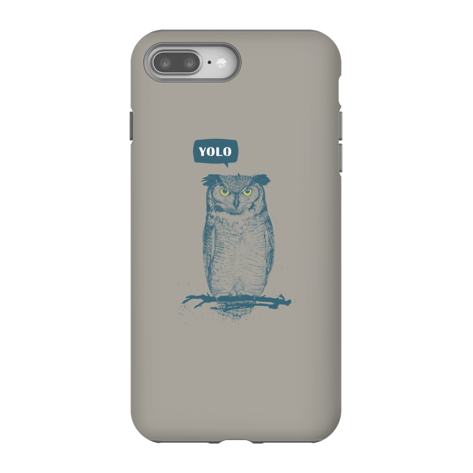 Balazs Solti YOLO Phone Case for iPhone and Android - iPhone 8 Plus - Tough Hülle Glänzend von Balazs Solti