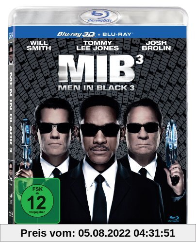 Men in Black 3 (+ Blu-ray) [Blu-ray 3D] von Barry Sonnenfeld