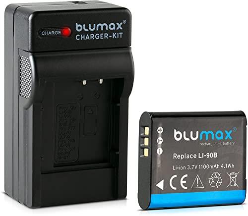 Blumax/® NP-400 NP400 Replacement 1400mAh 7.4V Battery Power Pack for Minolta DiMAGE A2 a Sweet Digital a-7 Maxxum 7D