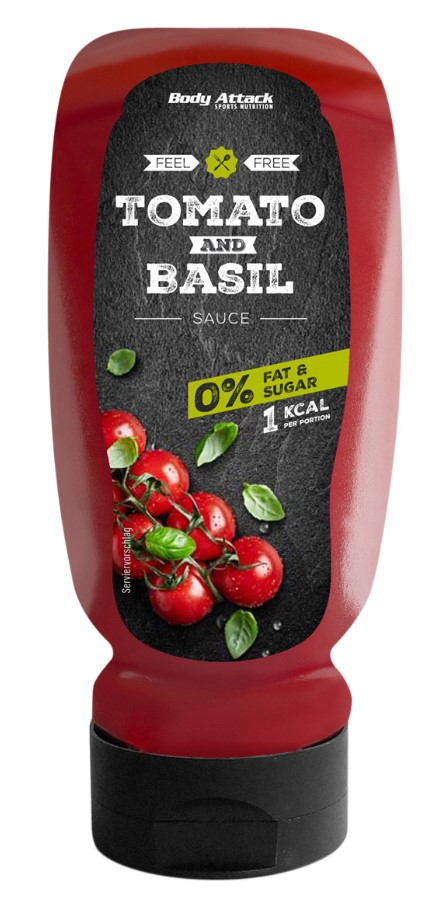 Body Attack Tomato and Basil Sauce - 320 ml - Body Attack von Body Attack Nutrition®