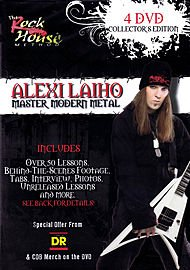 Alexi Laiho - Master Modern Metal [Collector's Edition] [4 DVDs] von Bosworth Music GmbH