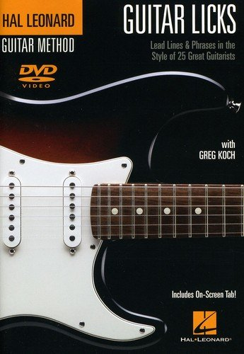 Guitar Licks - Greg Koch / Lead Lines And Phrases In The Style Of 25 Great Guitarists von Bosworth Music GmbH