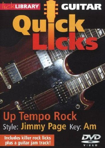 Guitar Quick Licks - Up Tempo Rock/Jimmy Page von Bosworth Music GmbH
