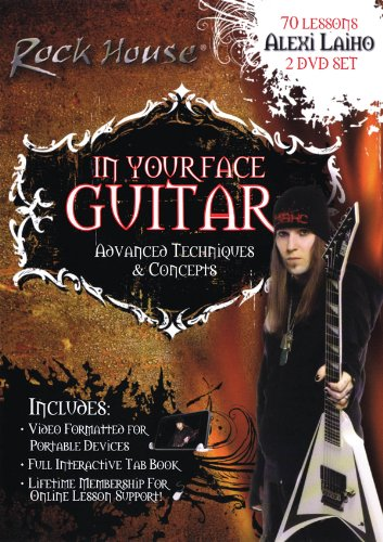 In Your Face Guitar - Advanced Techniques & Concepts [2 DVDs] von Bosworth Music GmbH