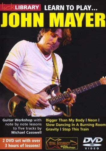 Learn to play John Mayer [2 DVDs] von Bosworth Music GmbH
