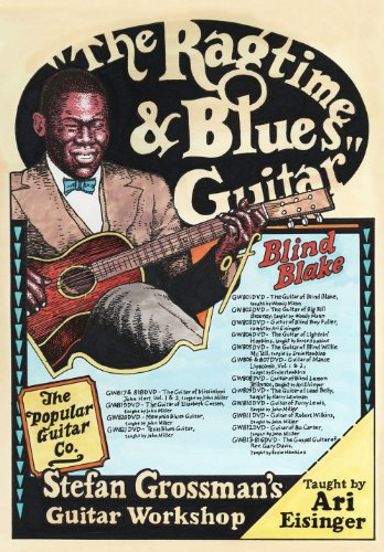 The Ragtime and Blues Guitar of Blind Blake taught by Ari Eisinger [2 DVDs] von Bosworth Music GmbH