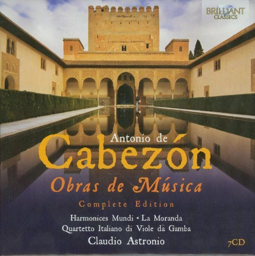 Obras De Musica Box set Edition by Cabezon, A. De (2012) Audio CD von Brilliant Classics