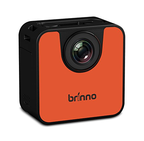 Brinno TLC120 - Portable Weather Resistant Time Lapse Camera with WiFi and BLE - Black/Orange von Brinno