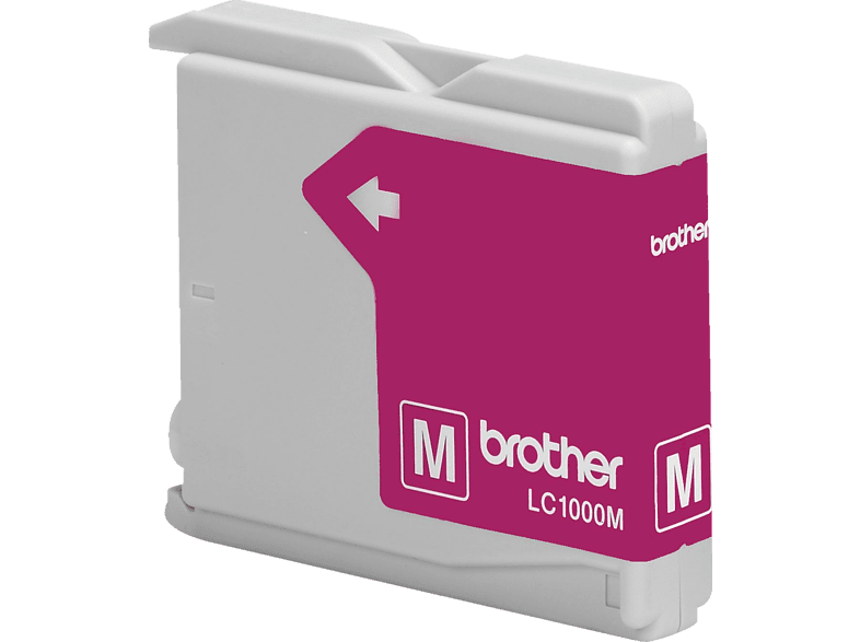 BROTHER Original Tintenpatrone Magenta (LC-1000M) von BROTHER