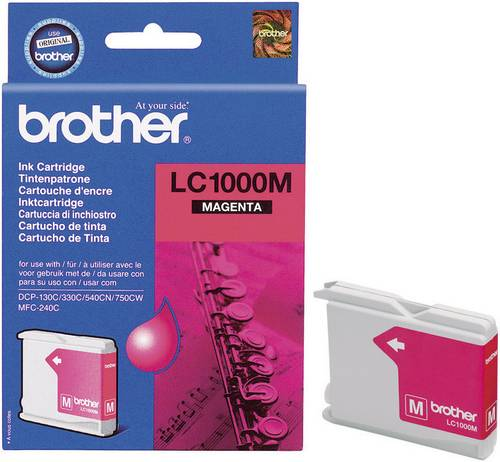 Brother Tinte LC-1000M Original Magenta LC1000M von Brother
