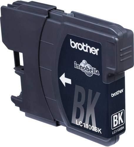 Brother Tinte LC-1100BK Original Schwarz LC1100BK von Brother