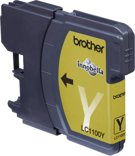Brother Tinte LC-1100Y Original Gelb LC1100Y von Brother