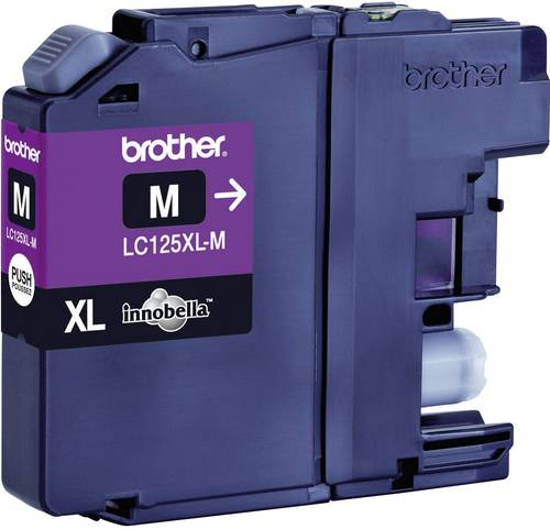 Brother Tinte LC-125XLM Original Magenta LC125XLM von Brother