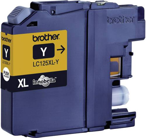 Brother Tinte LC-125XLY Original Gelb LC125XLY von Brother