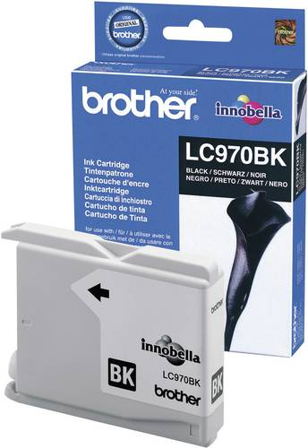 Brother Tinte LC-970BK Original Schwarz LC970BK von Brother
