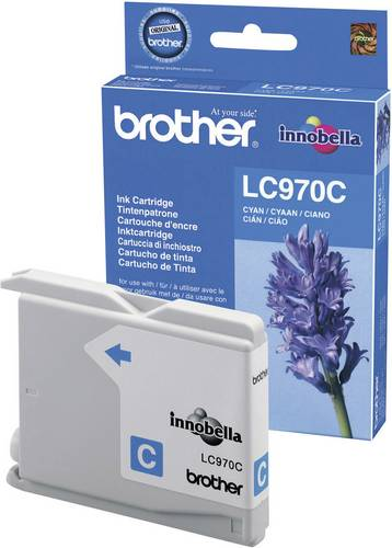 Brother Tinte LC-970C Original Cyan LC970C von Brother