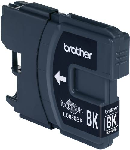 Brother Tinte LC-980BK Original Schwarz LC980BK von Brother