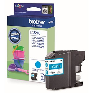 brother LC-221C cyan Tintenpatrone von Brother