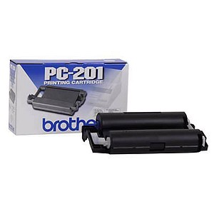 brother PC-201 schwarz Thermo-Druckfolie 1 Rolle von Brother