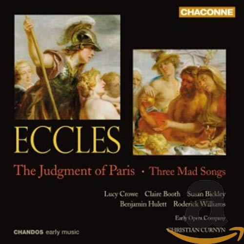 Eccles: The Judgment of Paris / Three Mad Songs von CHANDOS GROUP