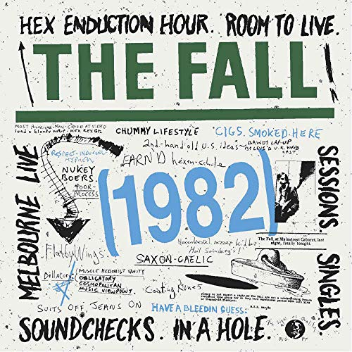 1982-Hex Enduction Hour/Room to Live/...(6cds) von CHERRY RED