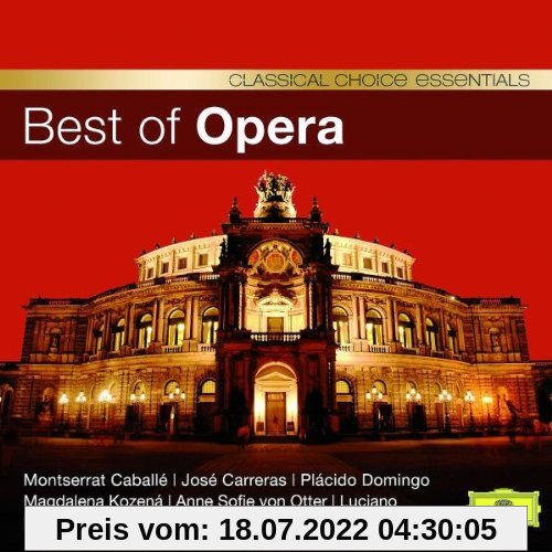 Best Of Opera (Classical Choice) von Caballe
