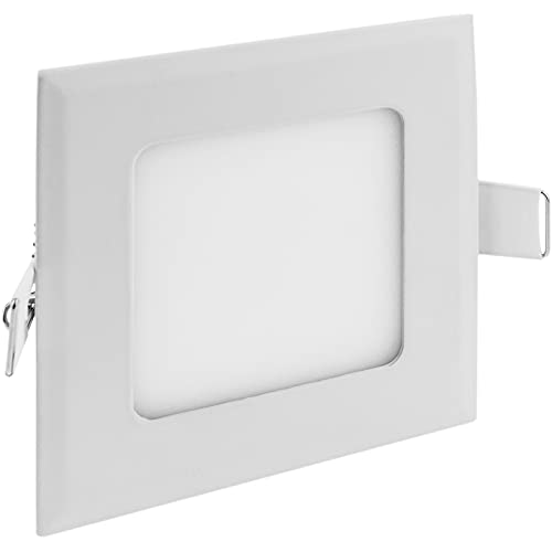 Cablematic LED Panel 15W 190mm quadratischen Downlight cool white Tag von Cablematic