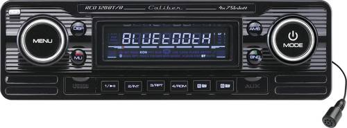 Caliber Audio Technology RCD-120BT/B Autoradio Retro Design, Bluetooth®-Freisprecheinrichtung von Caliber Audio Technology