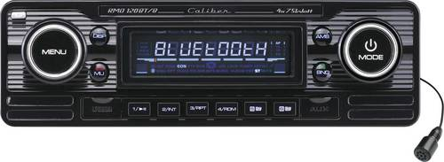 Caliber Audio Technology RMD-120BT/B Autoradio Retro Design, Bluetooth®-Freisprecheinrichtung von Caliber Audio Technology