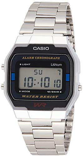 Casio Collection Unisex-Armbanduhr A163WA 1QES von Casio