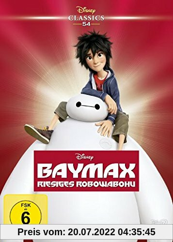Baymax - Riesiges Robowabohu (Disney Classics) von Chris Williams
