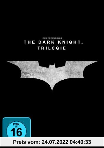 The Dark Knight Trilogie [3 DVDs] von Christopher Nolan