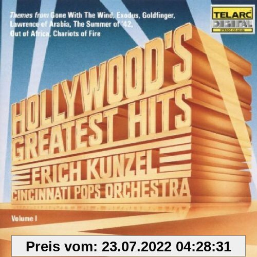 Hollywood's Greatest Hits von Cincinnati Pops Orchestra