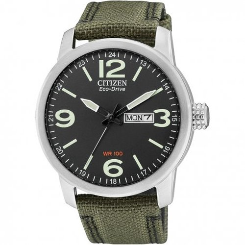 Citizen Herren-Armbanduhr XL Analog Quarz Nylon BM8470-11EE von Citizen
