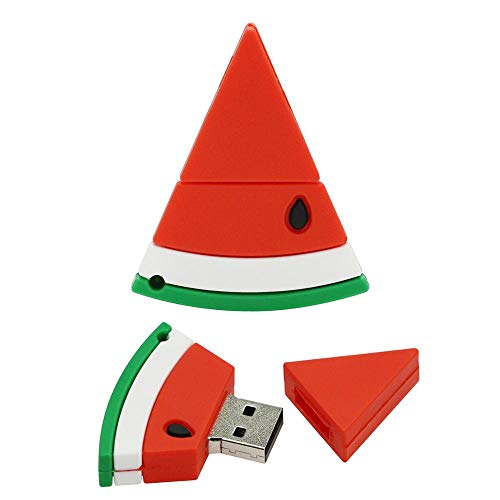 32 GB USB 3.0 Flash-Laufwerk USB-Speicherstick - Daumenlaufwerk Cartoon Watermelon Pendrive - Civetman Fruit Shaped Zip Drive Datenspeichergerät von Civetman