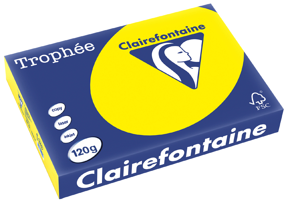 Clairefontaine karibik 4161 A4-Papier 160g//m2 50Blatt
