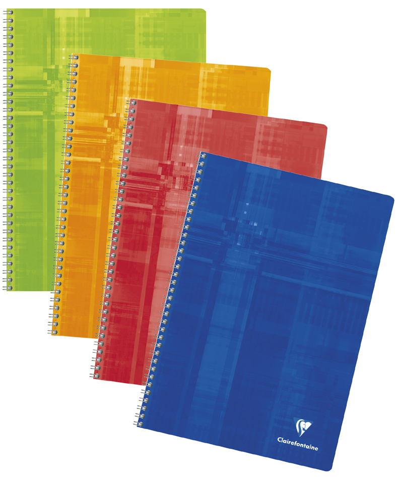 Clairefontaine Cahier spirale, 170 x 220 mm, 100 pages von Clairefontaine