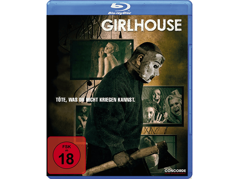 Girlhouse: Der nackte Horror kennt kein Erbarmen [Blu-ray] von CONCORDE HOME ENTERTAINMENT GM