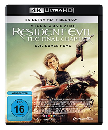 Resident Evil: The Final Chapter  (4K Ultra HD) (+ Blu-ray) von Constantin Film (Universal Pictures)