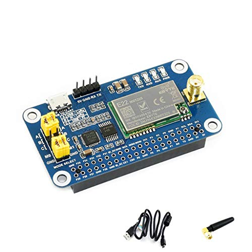 Coolwell Waveshare SX1262 LoRa HAT for Raspberry Pi/Arduino/STM32 Spread Spectrum Modulation up to 81 Available Signal Channel 868MHz Frequency Band Allows Data Transmission up to 5km von Coolwell