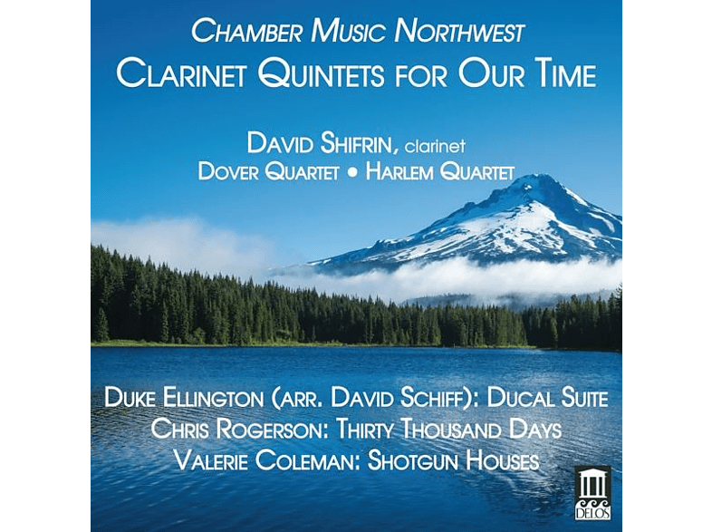 Dover Quartet, Harlem Quartet, David Shifrin - Clarinet Quintets for Our Time [CD] von DELOS